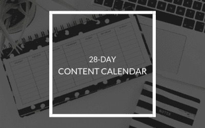 28-Day Content Calendar for Small Businesses