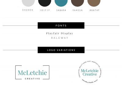 McLetchie Creative Brand Board