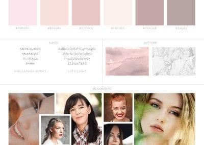 Simply Beautiful You Brand Board